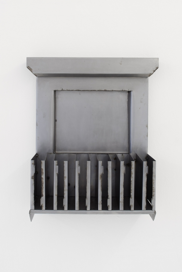 Balcony with Filing System, 2019, steel
