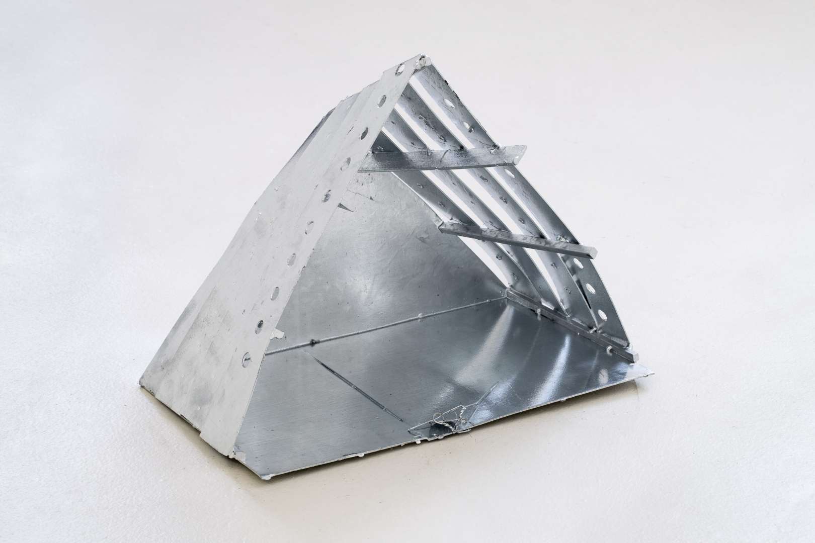 Study for Vessel, 2019, Galvanized steel