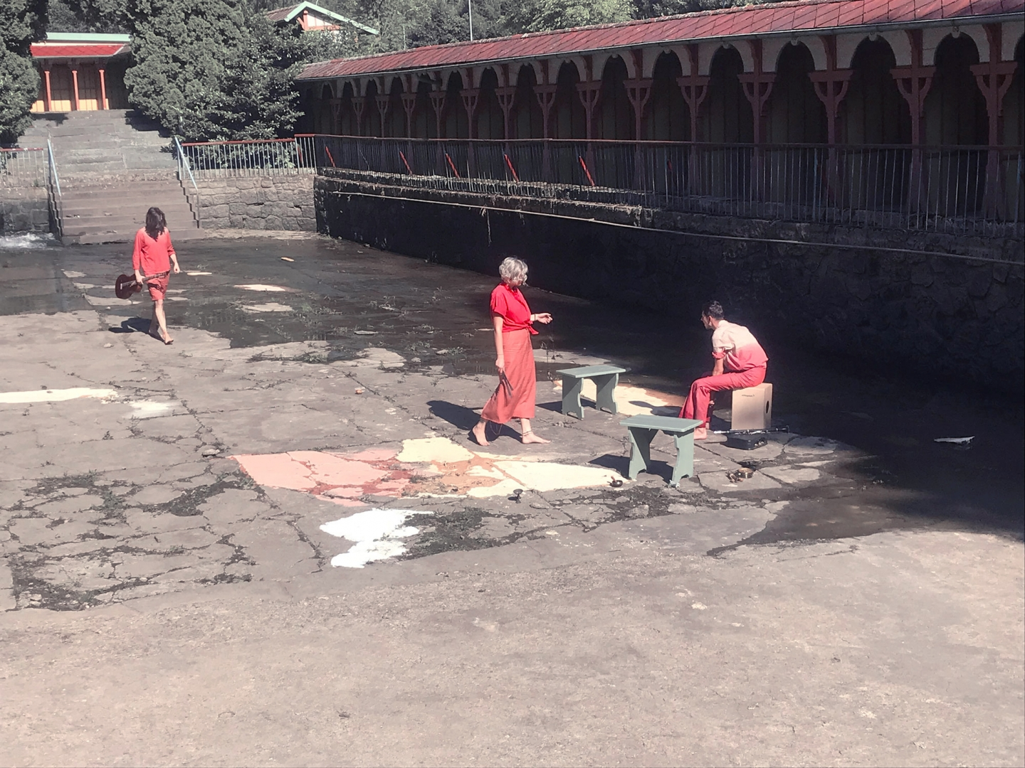 8. A Few Liters of Dried Rituals, sonic event, River and Sun Spa, Luhačovice, CZ, 2019