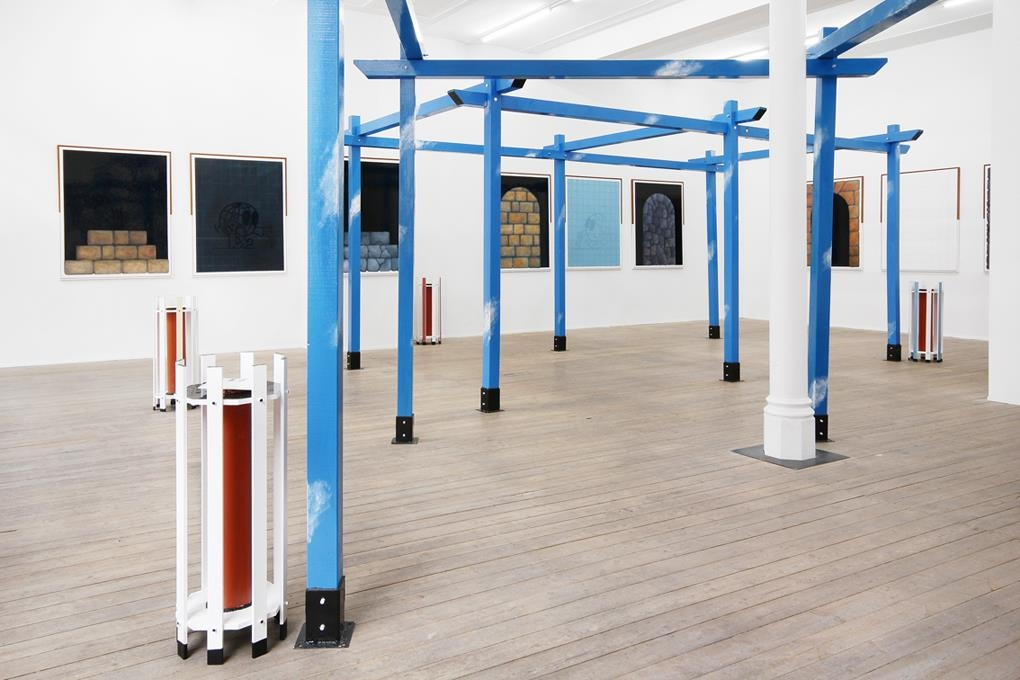 Thomas Jeppe, Lost in Connotation, Installation View, Conradi, Hamburg, 2014