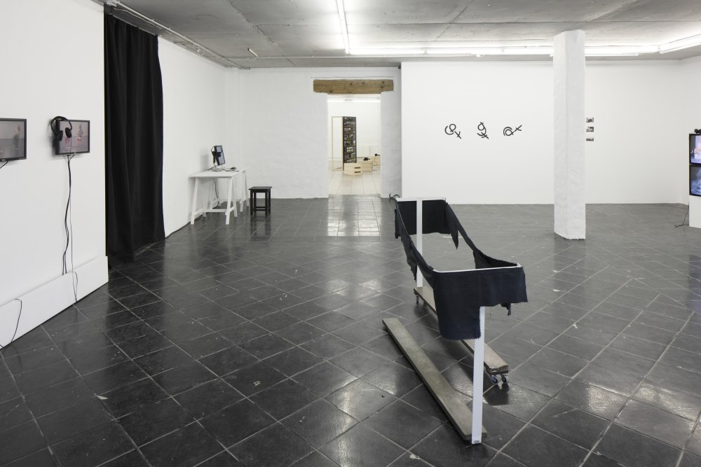 Society Acts -Version 2.After Moderna Exhibition 2014 (2015). Exhibition view. Photo Ansis Starks