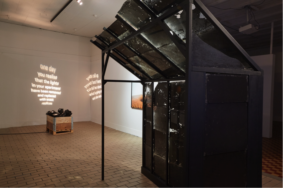 The Primal Shelter is the Site for Primal Fears (2016). Exhibition view. Photo Vigfús Birgisson, courtesy The Living Art Museum